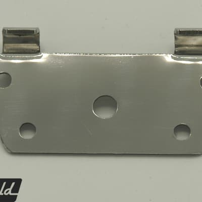 Bracket for Rickenbacker-style trapeze tailpiece or Kauffman vibrola