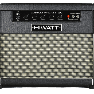"SA20C - Custom Hiwatt 20 Combo w/ 2x10"" Speakers"