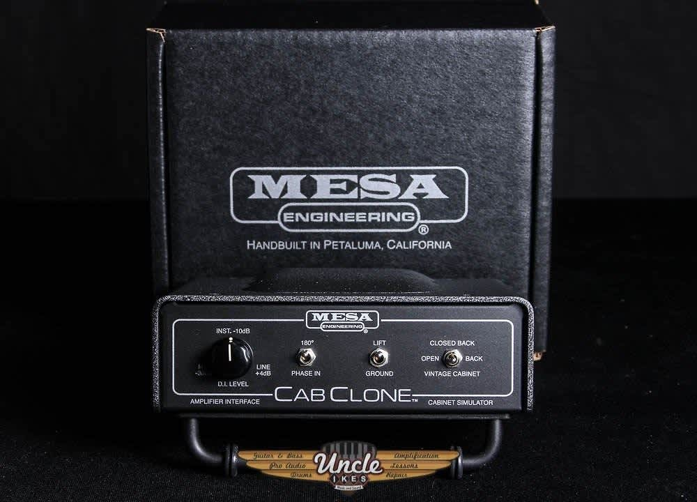 mesa boogie cab clone amp interface cabinet simulator reverb. Black Bedroom Furniture Sets. Home Design Ideas