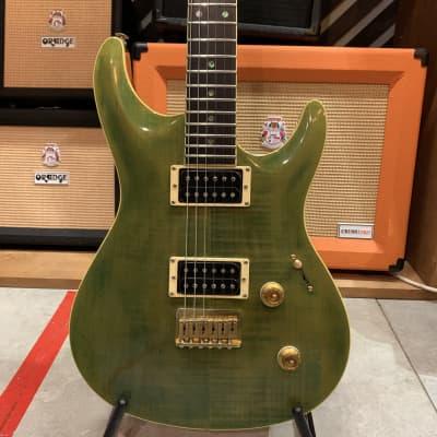 Heartfield by Fender Elan HH Green Case Japan 1990s for sale