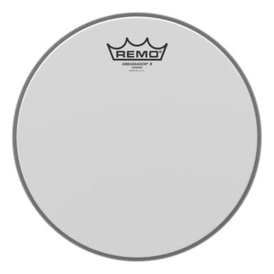 Remo Ambassador X Coated Snare/Tom Head 16 in