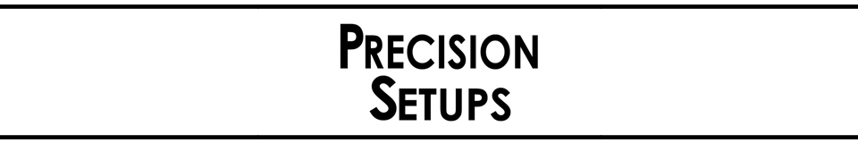 Precision Setups and Guitars
