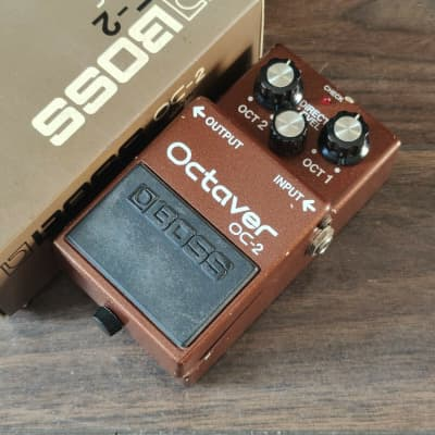 1984 Boss OC-2 Octaver MIJ Japan Vintage Effects Pedal w/Box for sale
