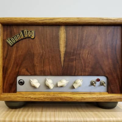 Vintage Alessandro Hound Dog Redbone Special Cocobolo Tube Guitar Amp Head for sale
