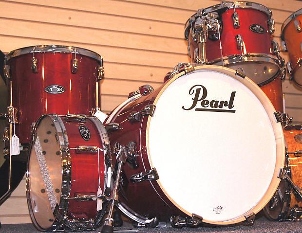 pearl vision birch vbl984 4pc jazz bop natural cherry drum reverb. Black Bedroom Furniture Sets. Home Design Ideas