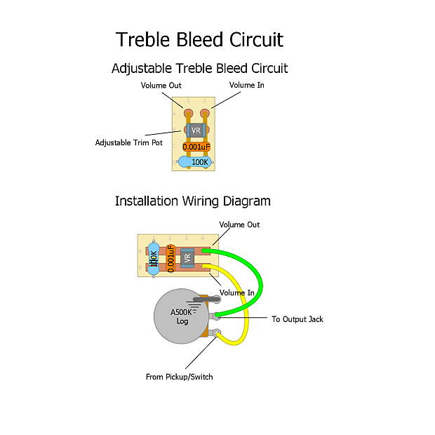 Magnificent Ehs Adjustable Treble Bleed Circuit 0 001Uf 100K Reverb Wiring 101 Cranwise Assnl