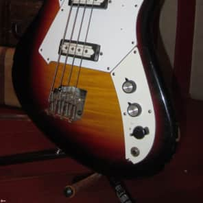 Circa 1967 Norma Electric Bass Double Pickup for sale