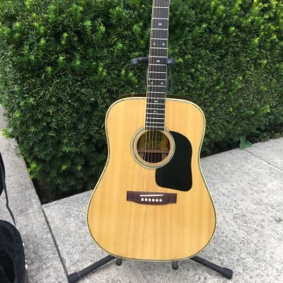 1975 Favilla S-115R acoustic in natural gloss for sale