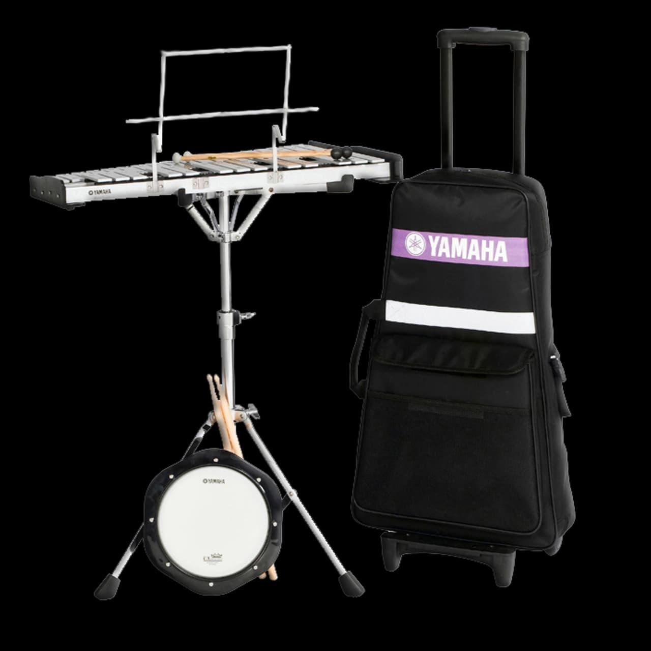 yamaha spk 275r student bell kit with rolling cart reverb. Black Bedroom Furniture Sets. Home Design Ideas