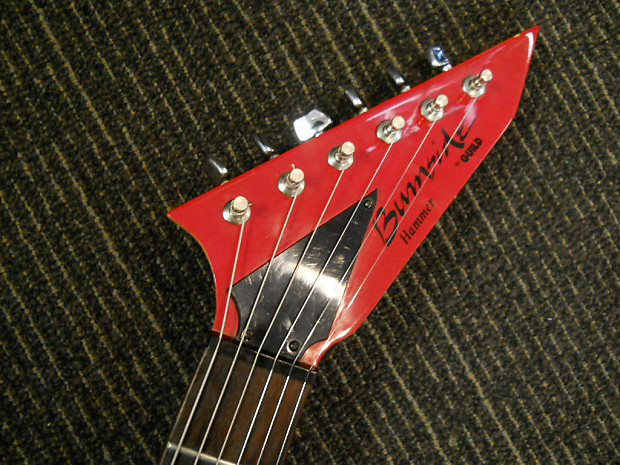 Guild Burnside Hammer Strat Style Electric Guitar Red Reverb