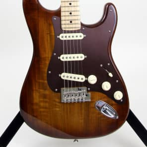 Store Demo | Fender Exotic Series Shedua Stratocaster | Limited Edition for sale