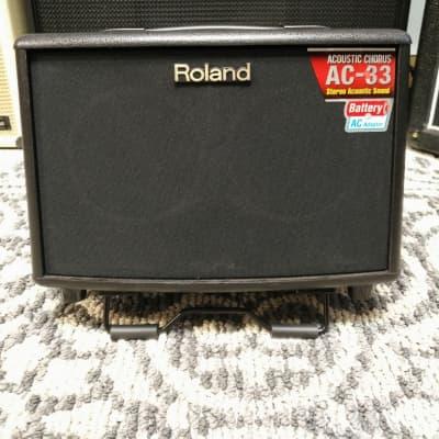 Roland AC-33 Acoustic Chorus Guitar Amp Black