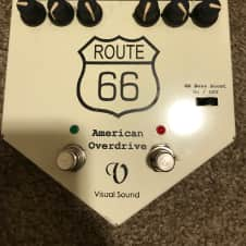 Visual Sound Route 66 American Overdrive and Compressor Early 2000s