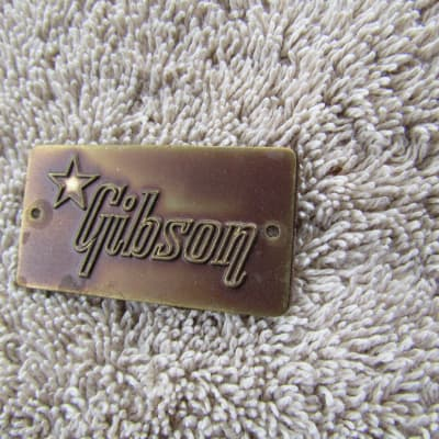 Gibson Case Badge 1950's Vintage Gibson Case BadgeVintage Correct Part
