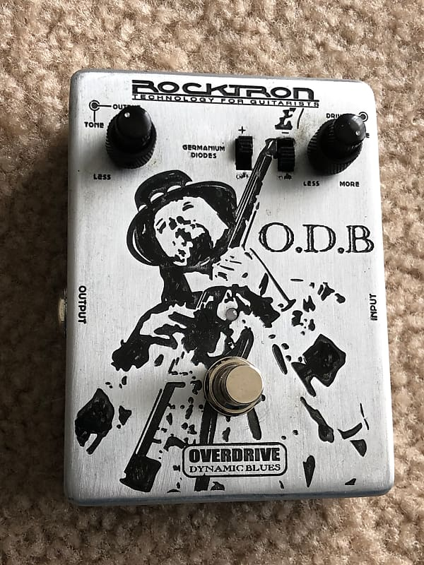 rocktron o d b overdrive blues guitar pedal reverb. Black Bedroom Furniture Sets. Home Design Ideas