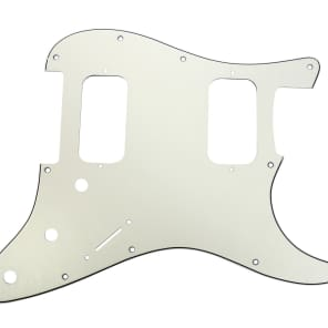 920D Custom Shop ST-HH-PA 3-Ply 11-Hole HH Fat Strat Pickguard