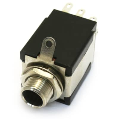 """9-pin 1/4"""" Stereo Jack w/ DPDT Switch"""
