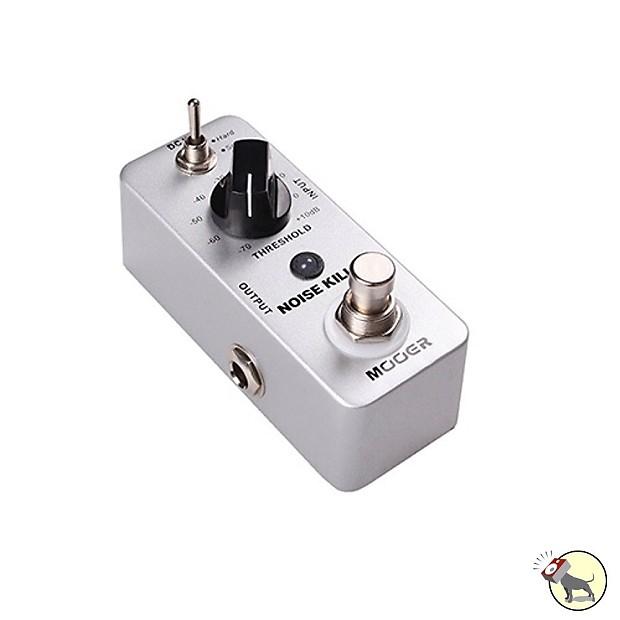 mooer noise killer gate guitar effect pedal pitbull audio reverb. Black Bedroom Furniture Sets. Home Design Ideas