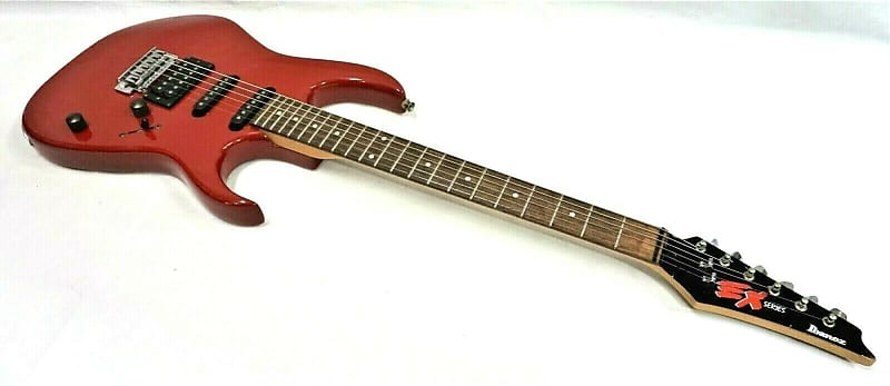 vintage 1992 ibanez ex270 ex series korea cherry red electric reverb. Black Bedroom Furniture Sets. Home Design Ideas