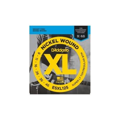 D'Addario Electric strings ESXL125 09-46 Double Ball End
