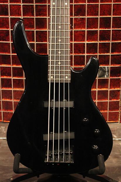 oscar schmidt by washburn ob45 black 5 string bass reverb. Black Bedroom Furniture Sets. Home Design Ideas