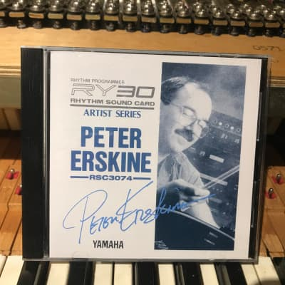 "Yamaha RSC3074 ""Peter Erskine"" cartridge for RY30 - 1990's"