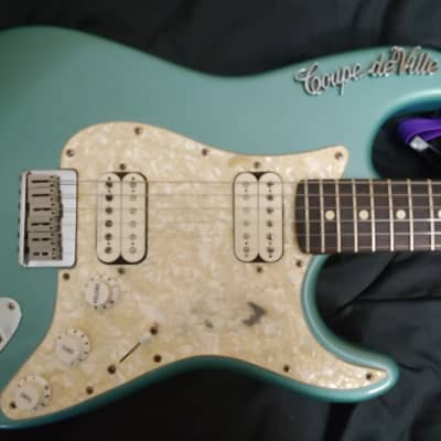 Fender Big Apple Stratocaster 1999 Turquoise for sale