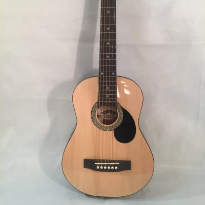 "Stadium Natural Acoustic Guitar 30""-1/2 Size for Child-Shop Setup Included!"
