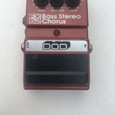 DOD Digitech FX62 Bass Stereo Analog Chorus Rare Vintage Guitar Effect Pedal for sale