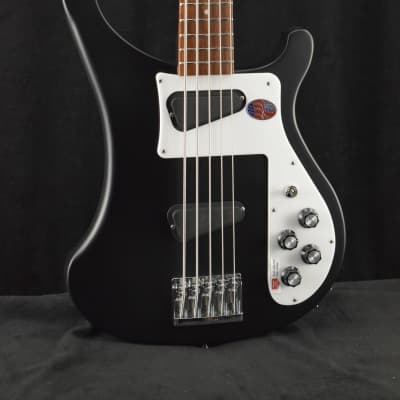 Rickenbacker 4003S/5 5-String Bass Matte Black with Hardshell Case