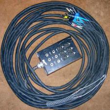 Rapco Snake. 75 feet long. 6x2x2