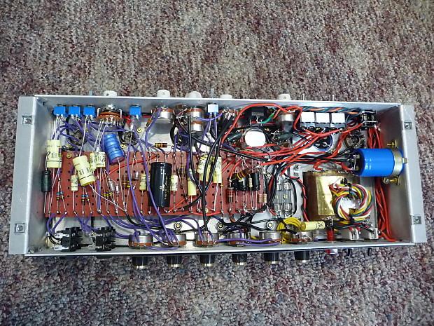 Plexi Amplifier - Merren Transfomers, Allen Bradley Resistors, Sozo  Capacitors