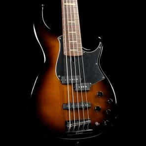 Yamaha BB735A-DCS 5-String with Active Electronics Dark Coffee Sunburst
