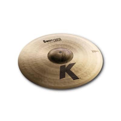 Zildjian 18 inch K Series Sweet Crash Cymbal - K0704 - 642388317884