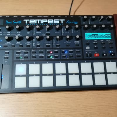Dave Smith Instruments Tempest Analog Drum Machine/Mint/ Desksaver/Pro Hard Case