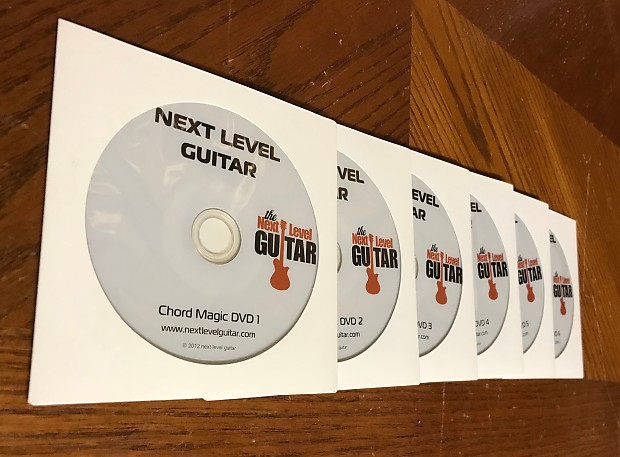 next level guitar chord magic dvds reverb. Black Bedroom Furniture Sets. Home Design Ideas