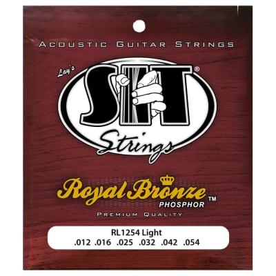 SIT Strings RL1254 Light Royal Bronze Acoustic .012-.054 for sale