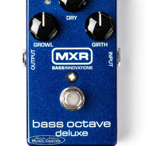 MXR M288 Bass Octave Deluxe Effect Pedal for sale