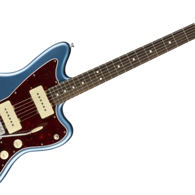 Fender American Performer Jazzmaster Electric Guitar Rosewood Fingerboard, Satin Lake Placid Blue W/ Bag for sale