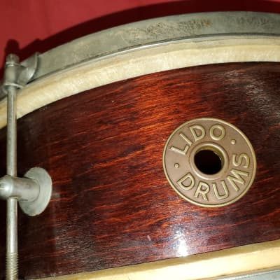 Lido Snare 1940s 50s ? Wood