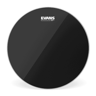 Evans TT18RBG Resonant Black Drum Head - 18""