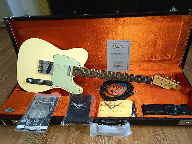 Fender Custom Shop 63 Tele Journeyman Relic