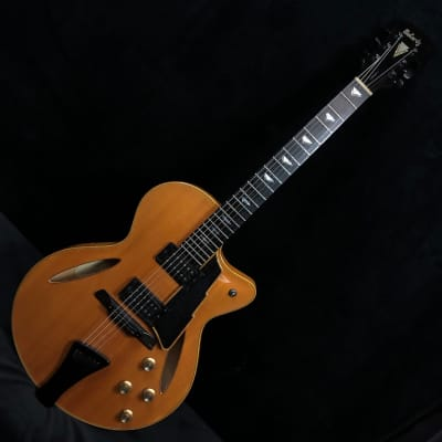 2009 McCurdy Perfecta Blonde Archtop Electric Guitar #50978 for sale