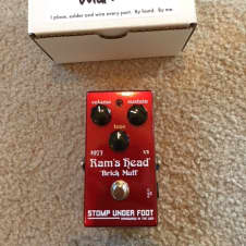 "Stomp Under Foot Ram's Head ""Brick"" Muff 2017 Candy Apple Red"