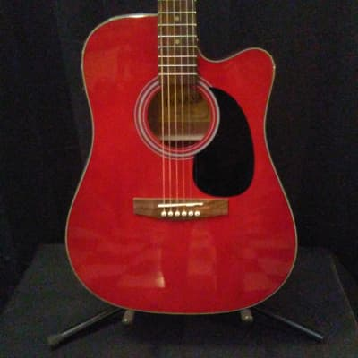 Indiana TB2RD Thin Body Acoustic/ Electric for sale