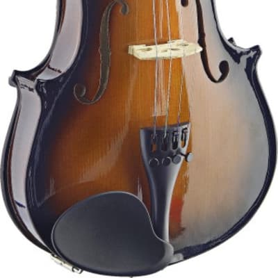 Stagg 4/4 Solid Maple Violin w/ standard-shaped soft-case
