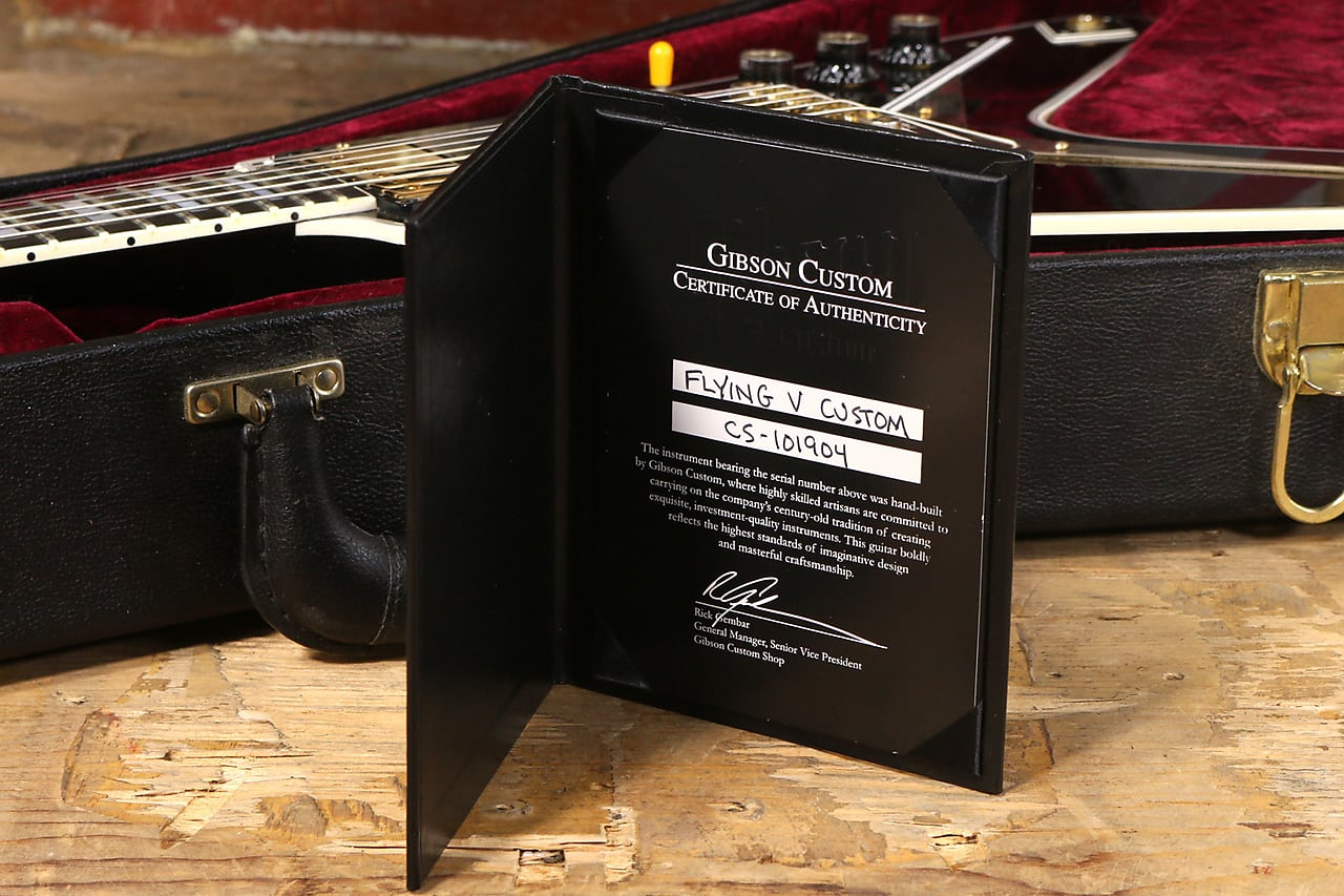 Buy New Used And Vintage Guitars Amps Synth Modules Effects 1967 Gibson Sg Wiring Harness 2011 Custom Shop Flying V Oxblood