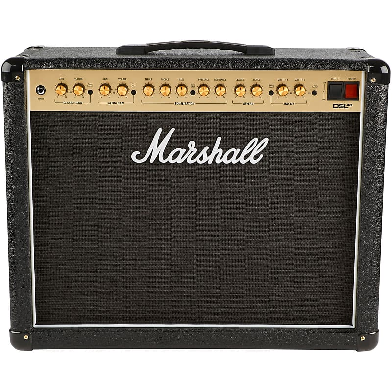 Marshall Dsl40cr 40w 1x12 Tube Guitar Combo Amp Manual Guide