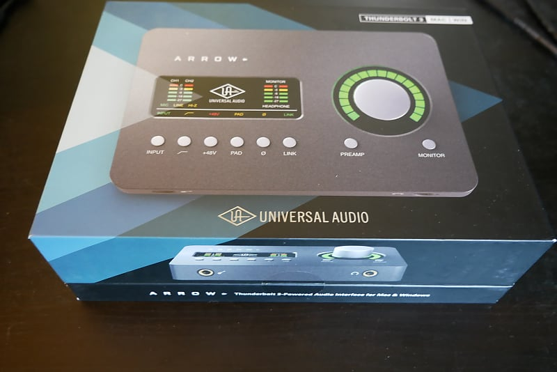 Universal Audio Arrow 2x4 Thunderbolt 3 Interface with Solo | Reverb