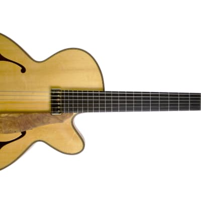 Andy Manson Archtop 2012 Natural for sale